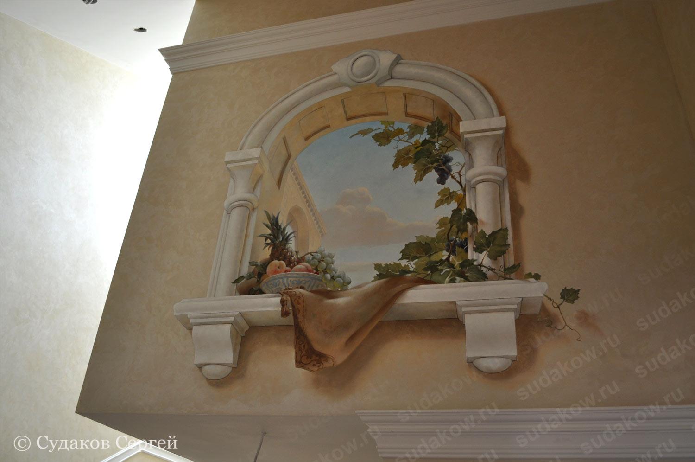 Панно окно на стену своими руками 31