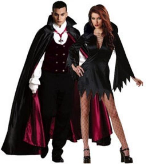 Костюмы вампирши на хэллоуин своими руками