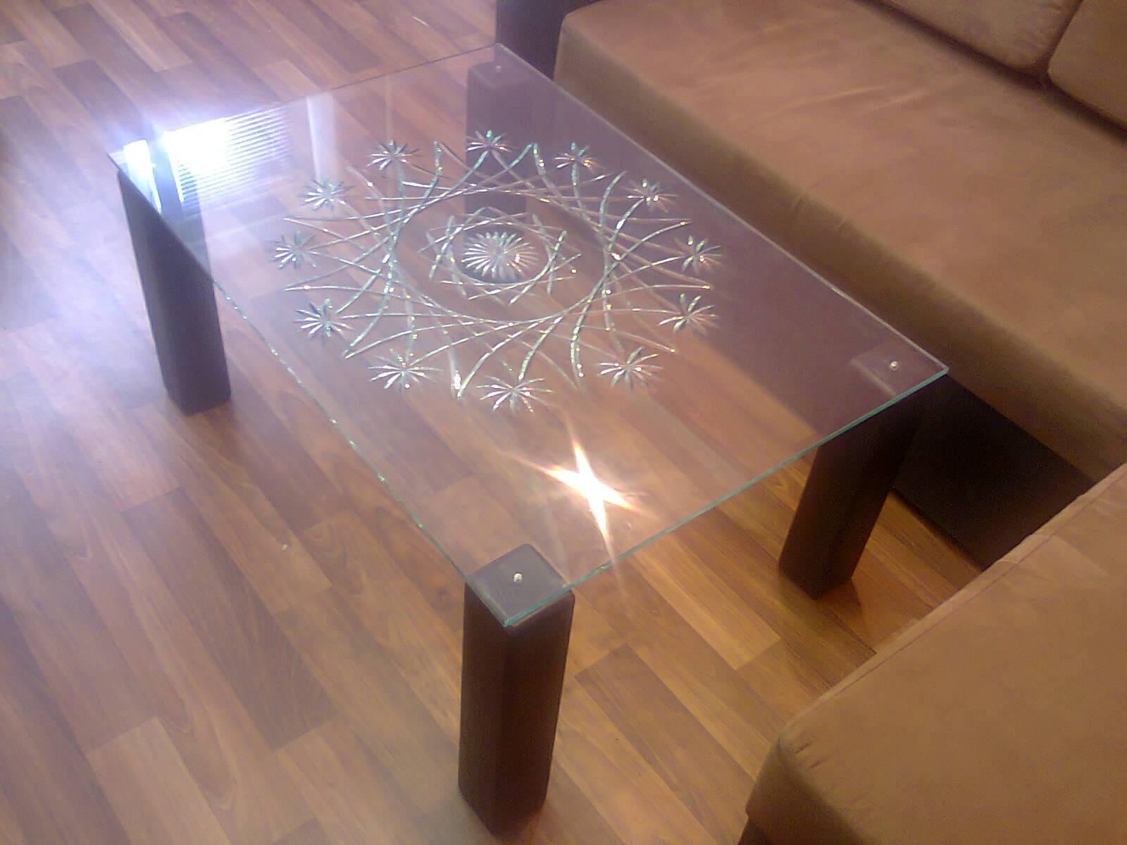 Как своими руками сделать стеклянный стол своими руками