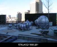stainless steel sphere sculpture04